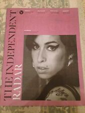 (UK) INDEPENDENT MAGAZINE JUNE 2015 AMY WINEHOUSE PHOTO COVER TAYLOR SCHILLING