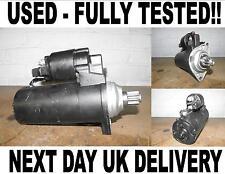 VW LUPO 1.7 DIESEL 1998 1999 2000 2001 2002-2005 STARTER MOTOR BOSCH 0001124007