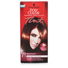 SCHWARZKOPF POLY COLOR TINT  MAHOGANY 71 CREAM COLOUR