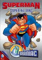 Superman Super-Villains: Brainiac, (DVD, 2013), NEW and Sealed, FREE shipping!