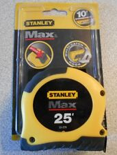 Stanley 33-279 25 ft Max Tape Measure - EXPEDITED SHIPPING -