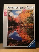 1000 Ravensburger jigsaw puzzle. Canada - Indian Summer, 2005, Rare complete