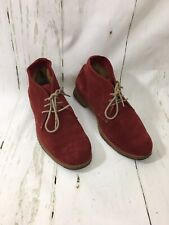 Johnston & Murphy Red Suede Chukka Boots 78-56196 Size 8M