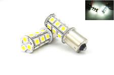 2x White High Power 18 SMD LED Brake Light 1156 P21W 7506 Bulb For Mercedes-Benz