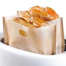 Non-Stick Toastbeutel Mikrowellenofen Beutel Sandwich Tasche Wiederverwendbar