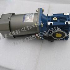 1PCS AC220V 200W 1.8A 140RPM 110kg.cm 1:10 Worm Gear Motor Large Torque