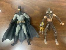"DC Collectibles Batman: Arkham Asylum SCARECROW 7"" Figure Lot Of 2"