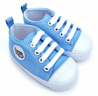 Baby Shoes Spring Summer 17 Pumps Trainers Pink & Blue Gift Box Incl. 0-18 month