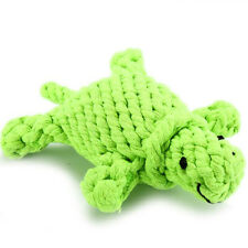 Pet Dog Puppy Chew Ball Toy Rope Cleaning Toys Little Turtle Bite Resistant SK