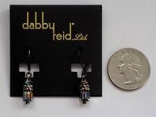 Dabby Reid Heidi Drop Earrings Swarovski Prism Crystals Hematite-plated Hde4109B