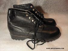 Soviet German GDR Soldier Leather Combat Boots 39 Army Uniform