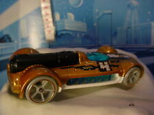 2017 HW Formula Space Design RETRO-ACTIVE☆gold/white/blue;4;oh5☆LOOSE Hot Wheels
