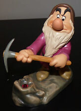 WDCC SNOW WHITE AND THE SEVEN DWARFS GRUMPY A SHOVEL OR A PICK DISNEY FIGURINE