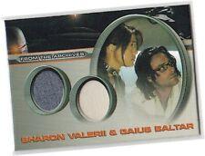 "Battlestar Galactica Season 3 - DC4 ""Valerii & Gaius Baltar"" Dual Costume Card"