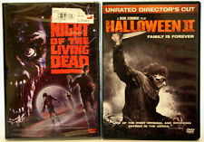 Dvd Lot of 2 Scary Movies Night of the Living Dead and Halloween 2