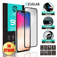 iPhone 11 Pro Max ZUSLAB Full Coverage Tempered Glass Screen Protector for Apple