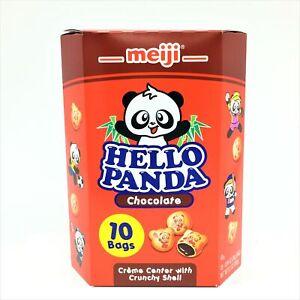 Meiji Hello Panda Cookie-Chocolate 10 X26g Bags