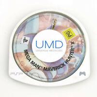 Mega Man Maverick Hunter X - Sony PlayStation Portable PSP - *UMD Disc ONLY*