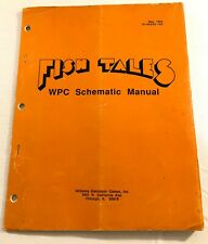 Williams Fish Tales Wpc Schematic Manual May 1992 16-50005-102