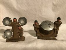 Barclay Pod Foot Radar Set and Anti-Aircraft Flood Light Lead Toy Soldiers