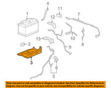 GM OEM-Battery Tray 15872637