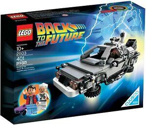 Lego Ideas 21103 Back to The Future The DeLorean Time Machine Brand New Sealed