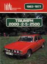 Triumph 2000/2.5/2500 1963-77