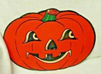 Halloween Pumpkin Paper Decoration Made In The USA