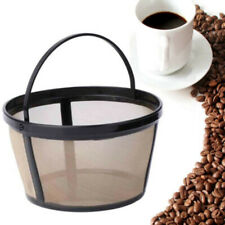 10-12 Cup Reusable Coffee Filter Permanent Basket Cylinder Mesh Tools Kits