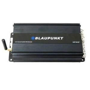 Blaupunkt AMP1804BT 1600 Watts Max 4 Ohms 4-Channel Bluetooth Full-Range Car ...