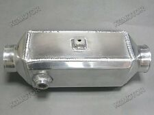 "3.5""x4""x14"" Liquid Water to Air Intercooler Two 2.5"" Air Inlet Outlet"