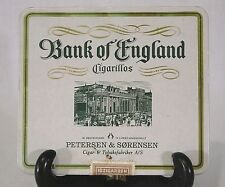 """Empty """" Bank of England """" Cigarillos Advertising Tin <<Made in Germany>> Fine+"""