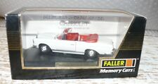 T6  Faller 4310 Memory Cars Mercedes 220 SE Cabrio 1:43
