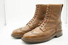 Crockett and Jones Islay Bond 007 Boots Nubuck Bronze Ridgeway UK 6E US 7 EU 40