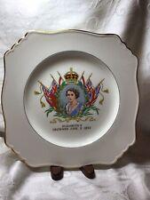 Royal Winton Grimwades  9 inch plate HRH Queen Elizabeth II's Coronation 1953