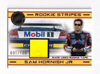 2008 VIP ROOKIE STRIPES #RS3 Sam Hornish Jr. BV$40! #031/100! SWEET!