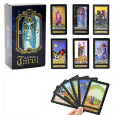 78 Cards Waite Rider Tarot Deck Game Future Telling Game Cards English Version