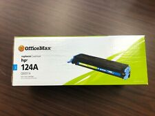 HP 124A OfficeMax Laser Toner Cartridge - Cyan (Q6001A)