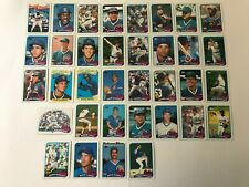 1989 CHICAGO CUBS Topps COMPLETE Baseball Team Set 35 Cards SANDBERGx2 DAWSONx3!