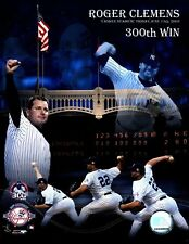 """Roger Clemens """"New York Yankees"""" 300th Win 6/13/03 Licensed 8x10 Glossy Photo A1"""