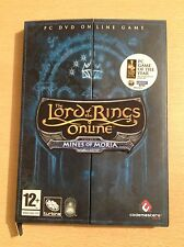 The Lord of the Rings Online Mines of Moria for Windows PC on DVD