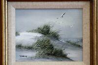 Original Oil Painting coastal landscape