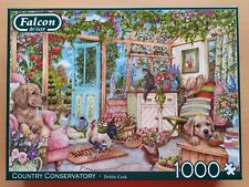 Falcon de Luxe COUNTRY CONSERVATORY 1000 piece jigsaw puzzle IMMACULATE