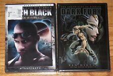 The Chronicles of Riddick Dark Fury & Pitch Black (Dvd's, 2004) Vin Diesel New