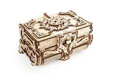Ugears Modellbausatz Antik Box Schatulle für Schmuck Holzmodell Geschenkidee