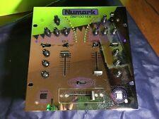 NUMARK DM1001X Stereo Mixer with Crossfader Curve Switch Chrome Face