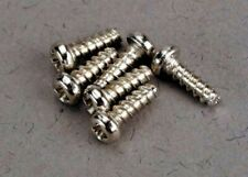 New Traxxas 2674 Round Head Self-Tapping Screw 2x6mm Revo 6 Free Us Ship