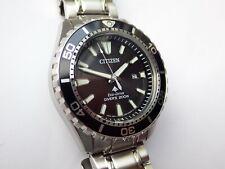 CITIZEN PROMASTER MARINE Eco-Drive Watch Professional Diver 200m BN0190-82E Mint