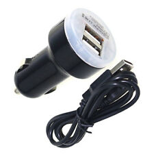 Dual USB Car Charger Micro USB Cable for Motorola DROID RAZR MAXX HD by Verizon
