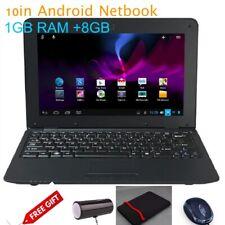 [Gift Set]DWO netbook 10.1 pulgadas Android 6.0 WiFi Allwinner A33 1+8G [Black]